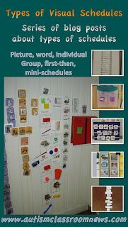 Visual Schedules Series: 7 Reasons to Use Schedules by Autism Classroom News at http://www.autismclassroomnews.com