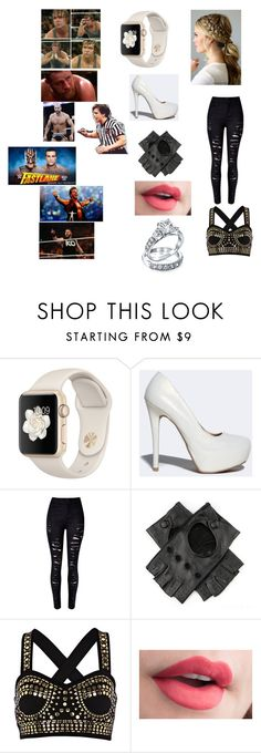 """""""Comforting My husband Dean, and our friends Sami Zayn, and Cesaro after their devastating lose to Chris Jericho, Kevin Owens, and Alberto Del Rio."""" by kaitlyngilmore ❤ liked on Polyvore featuring Qupid, River Island and Bling Jewelry"""