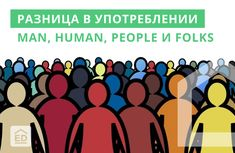 Хотите узнать, в чём же разница между human, man, people and folks? Читайте в статье!😉 #ED_article #englishdom