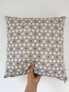 Jali Design Cushion by AzraBano on Etsy Cushion Pads, Cushions, Textiles, Antiques, Trending Outfits, Unique Jewelry, Handmade Gifts, Pattern, Prints