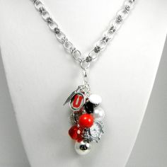 University Of Utah Necklace with by Blingtimeaccessories on Etsy