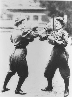 The 1904 Olympic games were held on the Washington University campus in St. Louis, Missouri. Men and women's boxing was first introduced and only the United States competed in the sport with 18 fighters. While it was not an official Olympic sport, it was shown as a demonstration and exhibition sport. After the games, the Olympic committee decided to accept men's boxing but believed women's boxing to be a 'health' risk and did not accept it as an official sport.