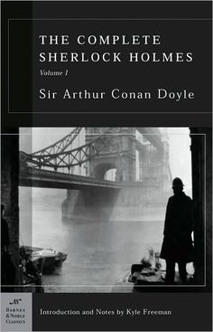 The Complete Sherlock Holmes comprises 4 novels and 56 short stories with the world's most popular and influential fictional detective—the eccentric, arrogant, and ingenious Sherlock Holmes. He and his trusted friend, Dr. Watson, step from Holmes's comfortable quarters at 221b Baker Street into the swirling fog of Victorian London to exercise that unique combination of detailed observation, vast knowledge, and brilliant deduction. Always a great read!