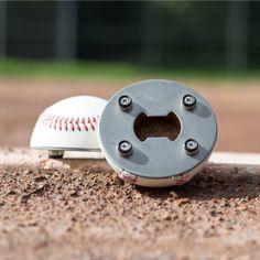 Personalized Baseball Bottle Opener