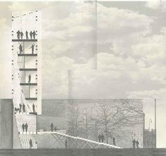 architecture collage section _ Corte_Montaje / Fotografía