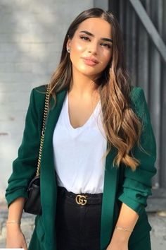 Casual Work Outfits, Blazer Outfits, Business Casual Outfits, Mode Outfits, Classy Outfits, Stylish Outfits, Winter Fashion Outfits, Look Fashion, Fall Outfits