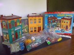 Fisher Price Sesame Street 938 WITH BOXcomplete by RubiesOriginals, $420.00