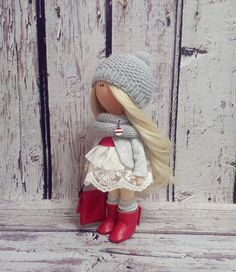Lady doll Interior doll Tilda doll Art doll by AnnKirillartPlace
