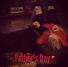 Lady so loyal, adoring my Father on Father's Day, and everyday. They are buddies.  find me on instagram: stephyscraps