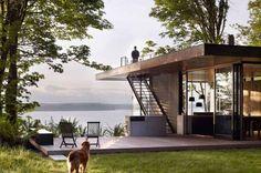 Case Inlet, vakantiehuisje, Washington, natuur - Een wel heel bijzonder vakantiehuistje - Wonen voor Mannen