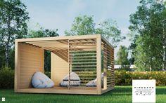 17 Elegant Pergola Designs Shaded to Perfection – My Life Spot Outdoor Areas, Outdoor Seating, Outdoor Rooms, Outdoor Living, Outdoor Structures, Outdoor Decor, Modern Gazebo, Modern Backyard, Backyard Pavilion