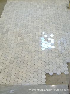 for Niches and Master bathroom shower floor Upstairs Bathrooms, Downstairs Bathroom, Master Bathroom, Master Shower, Small Bathroom, Master Bath Remodel, Shower Floor, Shower Tiles, Bathroom Flooring