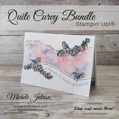 Hand Made Greeting Cards, Making Greeting Cards, Birthday Cards, Happy Birthday, Friendship Cards, Bird Cards, Stamp Making, Crafty Projects, Folded Cards