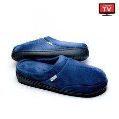 As Seen on TV Unisex Comfort Pedic Memory Foam Slippers