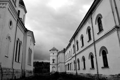 Bistrita Monastery - Valcea County   Romania Photo & Copyright: Iulia-Maria Kycyku Artistic Photography, Romania, Monochrome, Mario, Louvre, Building, Travel, Art Photography, Fine Art Photography