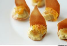 Green tea creme brulee with burnt orange « Cooking Blog – Find the best recipes, cooking and food tips at Our Kitchen.