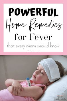 Fever Remedies for Kids. Learn how to stop fearing fevers and treat them natural. Fever Remedies f Home Remedies For Fever, Cold Home Remedies, Natural Health Remedies, Natural Fever Remedies, High Fever Remedies, Natural Fever Reducer, Natural Cures, Toddler Fever, Kids Fever
