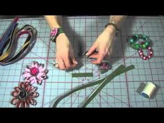 How to make a Zipper Rose, from Indygo Junction
