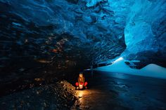 See the largest selection of ice cave tours in Iceland. The best tour is from Jokulsarlon, but you can also visit an ice cave from Reykjavik, Vík and Skaftafell. Guide To Iceland, Tours In Iceland, Iceland Photos, Iceland Travel, West Iceland, Northern Lights Iceland, Northern Lights Tours, Oasis, Cave Tours