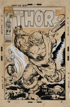 Thor #159 - by Jack Kirby & Vince Colletta