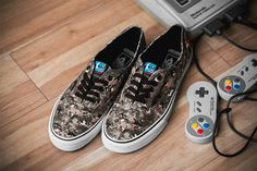Vans Sneakers in 8-Bit Nintendo Graphics for Summer 2016 - EU Kicks: Sneaker Magazine