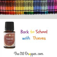 Back-To-School with Thieves essential oil