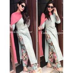 Designer Floral Print Pant Style Fully Stich Salwar Suit Dupatta