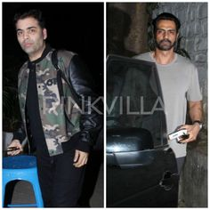 Snapped! Karan Johar and Arjun Rampal spotted in the city