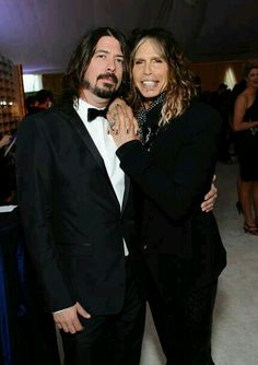 Dave Grohl and Steven Tayler