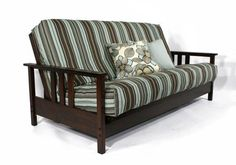 Temple Slug Futons Durango Wall Hugger Dark Cherry Queen Loveseat Ottoman -- Continue to the product at the image link.