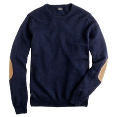 "J. Crew slim slub merino crewneck sweater...Just My Hubby's Style...Simple, Comfy & I Bet The ""Feel"" Is Perfect....Love This!!"