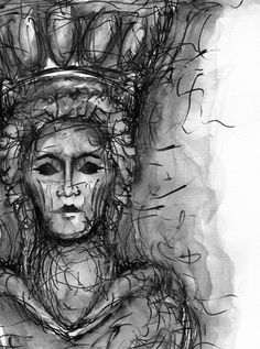 Caryatid II DOWNLOADABLE PRINT Pencil on paper Ancient | Etsy Print, Printed Pencils, Sign Art, Ancient, Dark Art, Downloadable Print, Art Inspiration, Photo Paper, Giclee Print