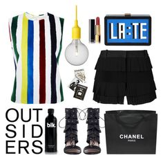 """""""OUTSIDERS"""" by klaricca ❤ liked on Polyvore featuring Muuto, Zimmermann, Chanel, Vera Wang, Thom Browne, Assouline Publishing and Les Petits Joueurs"""