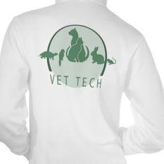 Vet Tech Tee Shirt http://www.zazzle.ca/vet+tech+gifts?pg=40