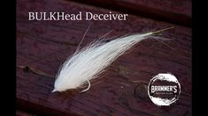 This is an short video series aimed at showcasing the most basic predator fly patterns - the Bucktail Deceiver and BULKHead Deceiver - and how to adapt them . Pike Flies, Saltwater Flies, Fly Fishing Rods, Fly Tying Patterns, Fishing Videos, Predator, Master Class, Montage, Bass