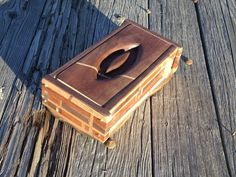 A beautiful and special hand made wooden box by DansDifferentBoxes