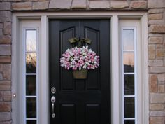 Tulips Easter Tulips Spring Door Decor Spring by twoinspireyou