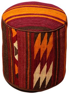 Taza Collection Zair Pouf Ottoman | 55DowningStreet.com