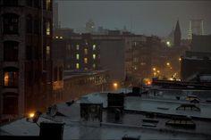 Night rain NYC  #city #night #rain #photography