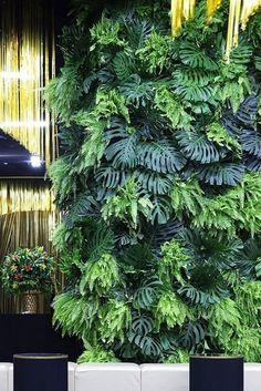 Stunning Living Wall Decor For Indoor And Outdoor 27 Tropical Garden, Tropical Plants, Green Garden, Plant Wall, Plant Decor, Vertikal Garden, Vertical Vegetable Gardens, Vertical Garden Design, Decoration Plante