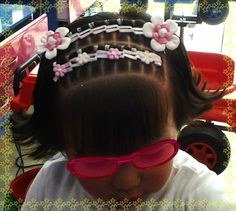 Peinado con cintas