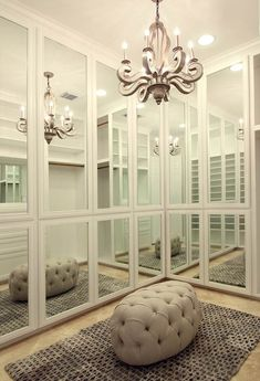 Yes! These are the kinds of closet doors I want to replace my huge 1990 mirror closet doors. Perfect for a photoshoot