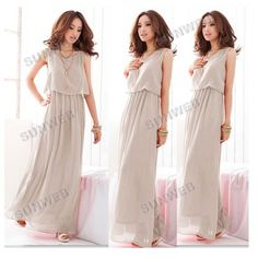 Bohemian Pleated Lac Chiffon Maxi long (with sleeves-love the colour)