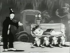 Different Shades of Snow White: 'Snow White' (1933)  Max Fleischer's studio produced an animated short version of Snow White featuring Betty Boop, who is of course the fairest in the land. The cartoon has a lot of fun features, including the resemblance of the Magic Mirror to Cab Calloway and the presence of animation icon Koko the clown. The film was developed over six months by Roland Crandall as his masterpiece at the studio.