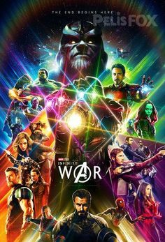 Avengers Infinity War Poster - Movie Promo 11 x 17 inches de3e8619db1