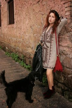 Afghani dress by Elizabeth the First Tribal Couture