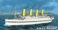 World War I: British Hospital Ship RMS Britannic | via @learninghistory