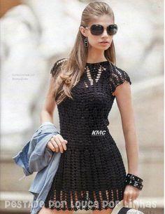 crochet summer lace dress
