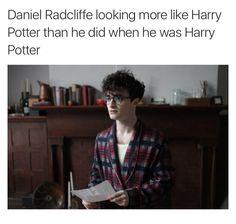 HE LOOKS LIKE JAMES.