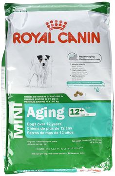 ROYAL CANIN SIZE HEALTH NUTRITION MINI Aging 12  dry dog food >> See this great image  : Dog food types